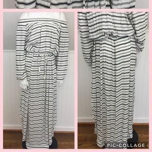 Faithfull Rae Maxi Dress Amsterdam Stripe